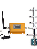 LCD GSM980 Display Mini GSM 900MHz Mobile Phone Signal Booster 900MHz Signal Repeater  Yagi Antenna with 10m Cable