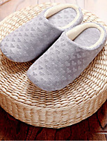 Unisex Slippers & Flip-Flops Spring Summer Fall Winter Comfort Cotton Casual Flat Heel Others Pink Gray Others