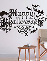 Personality Halloween Series  Wall Stickers Bedroom Living Room Decorative Sticker Removable Waterproof