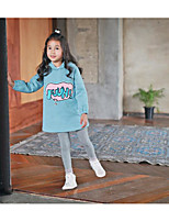 Girl's Casual/Daily Print Overall & JumpsuitPolyester Fall Green