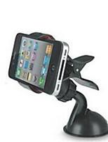 mini-voiture de support de téléphone mobile de voiture avec 360 degrés de rotation clip voiture cadre de navigation iphone4 étui pour