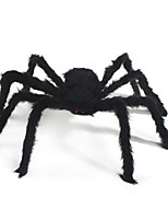 Novelty Toy Stuffed Animal Toy Halloween Supplies Props Bar Decorations Whole Black Plush Spider