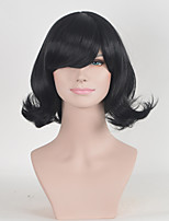 Black Color Afro Women Synthetic Wigs Fashion Curly European and American Wigs