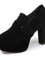 Women's Heels Spring / Fall / Winter Heels / Pointed Toe Fleece Office & Career / Casual Chunky Heel Others