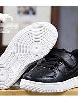 Черный / Красный / Белый-Унисекс-Для прогулок-Полиуретан-На плоской подошве-Удобная обувь-Кеды