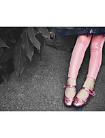 Girl's Casual/Daily Solid LeggingsCotton Fall Pink / White
