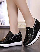 Women's Sneakers Spring / Fall Fashion Boots Rubber Outdoor Flat Heel Others Black / White Others