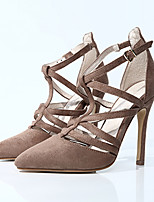 Women's Sandals Summer Heels / Sandals / Pointed Toe Fabric Party & Evening / Dress / Casual Stiletto Heel Buckle
