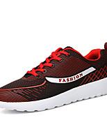 Men's Sneakers Spring / Fall Comfort Fabric Casual Flat Heel  Blue / Red / Gray Sneaker