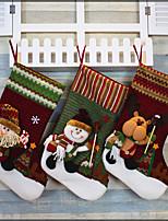 рождественские носки поставляет рождественские чулки на Рождество рождественские носки украшения Санта носки