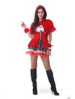 Costumes de Cosplay / Costume de Soirée Conte de Fée / Costumes de père noël Fête / Célébration Déguisement Halloween Rouge MosaïqueRobe