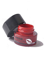 Lipstick Wet Cream Coloured gloss / Waterproof / Natural  5#Red 1 Other