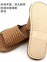 Unisex Flats Spring Summer Mary Jane Rubber Casual Flat Heel Others Tan Walking