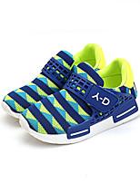 Mädchen-Flache Schuhe-Lässig-Tüll-Flacher Absatz-Komfort-Schwarz Blau