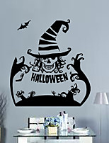 Halloween Clown Face Wall Stickers Decor Home Decoration Size 62*57cm DIY Design 3D Wallpaper For Kids Rooms