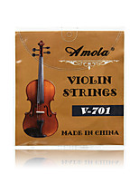 Amola V-701 Stainless Steel Nickel Wound Violin String Strings 4/4