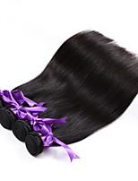 4 Stück Gerade Menschliches Haar Webarten Peruanisches Haar Menschliches Haar Webarten Gerade