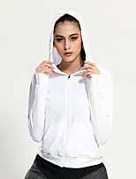 Running Tops / Sweatshirt Women's Long Sleeve Breathable / Quick Dry Materials Terylene Yoga / Fitness / Running Sports