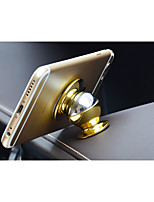 Magnet Mobile Phone Holder /24K Metal Logo 360 Degree Rotating Multi Feature Phone Support