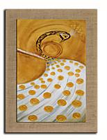 Ручная роспись Натюрморт / Животное / фантазия Картины маслом,Modern / Европейский стиль 1 панель Холст Hang-роспись маслом For Украшение