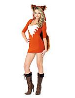 Costumes Déguisements d'animaux Halloween Orange Couleur Pleine Térylène Robe / Plus d'accessoires