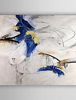 Handgeschilderde Abstract Olie schilderijen,Modern Eén paneel Canvas Hang-geschilderd olieverfschilderij For Huisdecoratie