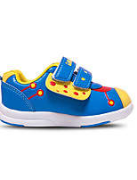 Unisex Flats Spring / Fall Round Toe PU Casual Flat Heel Others / Hook & Loop Blue / Yellow / Red Others
