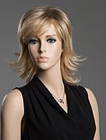 стильная волна тела лохматая волнистый человек Remy девственницы рукой, привязанной-топ монолитным женщины волосы парик