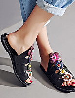 Women's Flats Spring / Summer Mary Jane Leather Outdoor Flat Heel Others