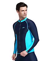 Sport Herrn Bademode / Neoprenanzug / Oberteile Taucheranzug UV-resistant / Sanft / Sonnenschutz Dive Skins Under 1.5 mm BlauL / XL / XXL