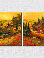 Canvas Set Landscape Modern Two Panels Canvas Vertical Print Wall Decor For Home Decoration