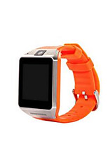Orange New Fashion Multifunction Bluetooth Gv08 Android Smart Watch