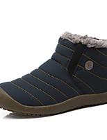 Синий Серый-Мужской-Для прогулок Для офиса Повседневный-Замша-На плоской подошве-Удобная обувь-Мокасины и Свитер