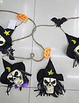 lidská kostra girlandy Bunting dekorace halloween látkové lidských fotografie rekvizity zeď na pozadí festival dekor