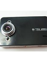 Koonlung 2.7 Polegadas Syntec Cartão TF Preto Carro Câmera