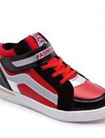 יוניסקס-נעלי ספורט-דמוי עור-שטוחות-כחול / אדום-שטח / ספורט-עקב שטוח