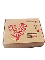 Eight 340Mm * 260Mm * 40Mm Love Tree Section-E Pit Thin Packaging Boxes Per Pack