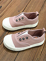 Unisex Loafers & Slip-Ons Spring / Summer / Fall / Winter Comfort / Round Toe Canvas Casual Flat Heel Others Pink Others