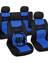 Seat Covers Set Universal Fit Most Car Seats Steering Wheel Cover Shoulder Pad Car Seat Cover