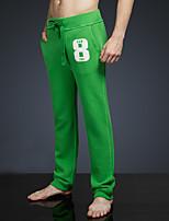 LOVEBANANA Men's Active Pants Green-35002