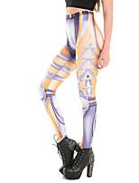 Для женщин Для женщин С перекрещивающимися элементами Legging,Полиэстер