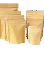 Kraft Paper Bags Aluminum Foil Bags Of Food Bags Ziplock Bags Sealed Bags A Moisture-Proof Bag Ten9*14