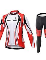 Sport Herrn Langärmelige FahhradAtmungsaktiv / Rasche Trocknung / Reißverschluß vorne / tragbar / Hohe Atmungsaktivität (>15,001g) /