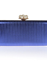 L.west Women Elegant High-grade Pearl Metallic Evening Bag