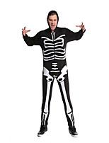 Costumes Ghost Halloween Black Print Terylene Leotard/Onesie / More Accessories