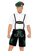 Costumes Plus de costumes Halloween Blanc / Noir Mosaïque Térylène Haut / Pantalon / Plus d'accessoires