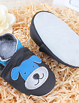 Unisex Flats Spring / Summer / Fall / Winter Flats Leather Casual Flat Heel Others Blue Others