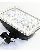 Luzes LED acessórios luzes lente do farol contas de vidro reflexivo 15 5 polegadas lente do farol quadrado