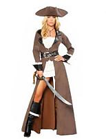 Costumes de Cosplay / Costume de Soirée Déguisements Thème Film/TV Fête / Célébration Déguisement Halloween Gris Couleur PleineRobe /