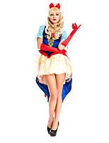 Costumes Déguisements de princesse Halloween Bleu Mosaïque Térylène Robe / Plus d'accessoires